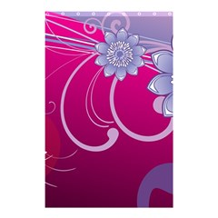 Love Flowers Shower Curtain 48  x 72  (Small)