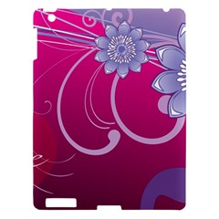 Love Flowers Apple iPad 3/4 Hardshell Case