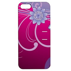 Love Flowers Apple Iphone 5 Hardshell Case With Stand