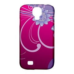 Love Flowers Samsung Galaxy S4 Classic Hardshell Case (PC+Silicone)