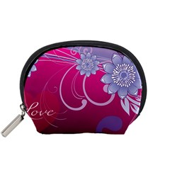 Love Flowers Accessory Pouches (Small)