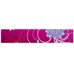 Love Flowers Flano Scarf (Large)