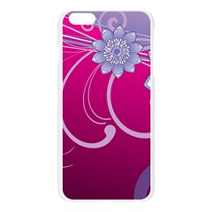 Love Flowers Apple Seamless iPhone 6 Plus/6S Plus Case (Transparent)