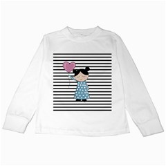 Valentines day design Kids Long Sleeve T-Shirts