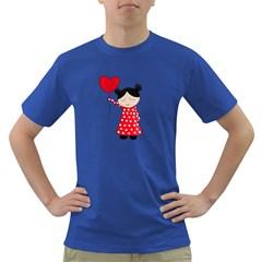 Girl in love Dark T-Shirt