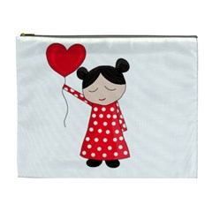 Girl in love Cosmetic Bag (XL)