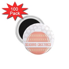 Merry Christmas 1 75  Magnets (100 Pack)