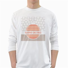 Merry Christmas White Long Sleeve T-Shirts