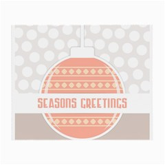 Merry Christmas Small Glasses Cloth (2-Side)