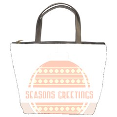 Merry Christmas Bucket Bags