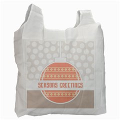 Merry Christmas Recycle Bag (Two Side)