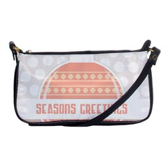 Merry Christmas Shoulder Clutch Bags