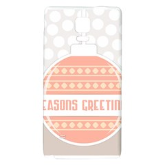 Merry Christmas Galaxy Note 4 Back Case