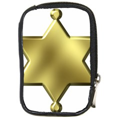 Sheriff Badge Clip Art Compact Camera Cases