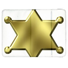 Sheriff Badge Clip Art Samsung Galaxy Tab 7  P1000 Flip Case