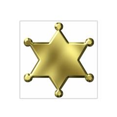 Sheriff Badge Clip Art Satin Bandana Scarf