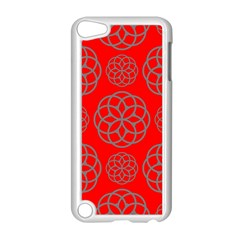Geometric Circles Seamless Pattern Apple iPod Touch 5 Case (White)