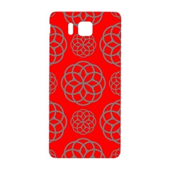 Geometric Circles Seamless Pattern Samsung Galaxy Alpha Hardshell Back Case