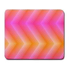 Pattern Background Pink Orange Large Mousepads