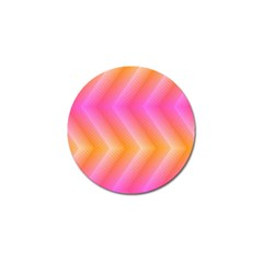 Pattern Background Pink Orange Golf Ball Marker (10 pack)