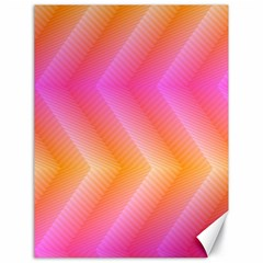 Pattern Background Pink Orange Canvas 18  x 24