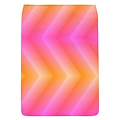 Pattern Background Pink Orange Flap Covers (S)