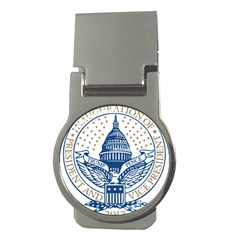 Presidential Inauguration USA Republican President Trump Pence 2017 Logo Money Clips (Round)