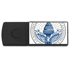 Presidential Inauguration USA Republican President Trump Pence 2017 Logo USB Flash Drive Rectangular (1 GB)