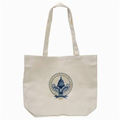 Presidential Inauguration Republican President Trump Pence 2017 Logo Tote Bag (Cream)