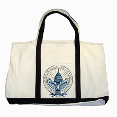 Presidential Inauguration USA Republican President Trump Pence 2017 Logo Two Tone Tote Bag