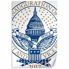 Presidential Inauguration USA Republican President Trump Pence 2017 Logo Canvas 20  x 30