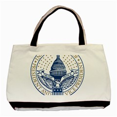 Presidential Inauguration USA Republican President Trump Pence 2017 Logo Basic Tote Bag (Two Sides)