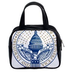 Presidential Inauguration USA Republican President Trump Pence 2017 Logo Classic Handbags (2 Sides)