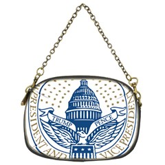 Presidential Inauguration USA Republican President Trump Pence 2017 Logo Chain Purses (Two Sides)