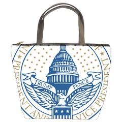 Presidential Inauguration Usa Republican President Trump Pence 2017 Logo Bucket Bags