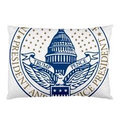 Presidential Inauguration USA Republican President Trump Pence 2017 Logo Pillow Case
