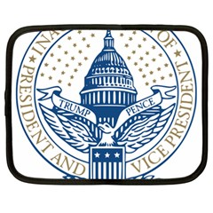Presidential Inauguration USA Republican President Trump Pence 2017 Logo Netbook Case (XL)