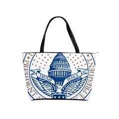 Presidential Inauguration USA Republican President Trump Pence 2017 Logo Shoulder Handbags