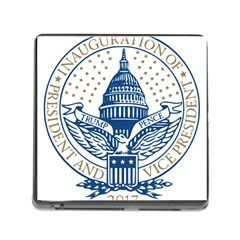 Presidential Inauguration Usa Republican President Trump Pence 2017 Logo Memory Card Reader (square)
