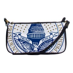 Presidential Inauguration USA Republican President Trump Pence 2017 Logo Shoulder Clutch Bags