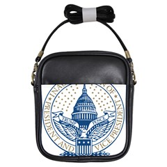 Presidential Inauguration Usa Republican President Trump Pence 2017 Logo Girls Sling Bags