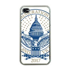 Presidential Inauguration USA Republican President Trump Pence 2017 Logo Apple iPhone 4 Case (Clear)
