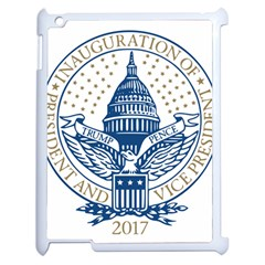 Presidential Inauguration USA Republican President Trump Pence 2017 Logo Apple iPad 2 Case (White)
