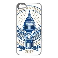 Presidential Inauguration USA Republican President Trump Pence 2017 Logo Apple iPhone 5 Case (Silver)