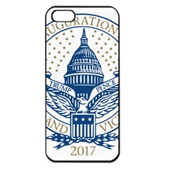 Presidential Inauguration USA Republican President Trump Pence 2017 Logo Apple iPhone 5 Seamless Case (Black)