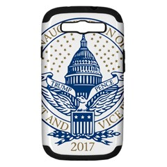 Presidential Inauguration USA Republican President Trump Pence 2017 Logo Samsung Galaxy S III Hardshell Case (PC+Silicone)