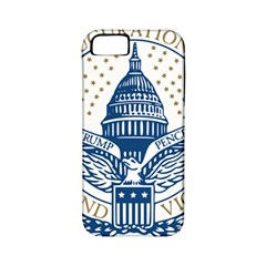 Presidential Inauguration USA Republican President Trump Pence 2017 Logo Apple iPhone 5 Classic Hardshell Case (PC+Silicone)