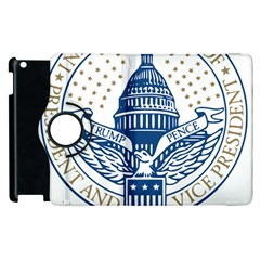Presidential Inauguration USA Republican President Trump Pence 2017 Logo Apple iPad 2 Flip 360 Case