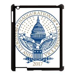Presidential Inauguration USA Republican President Trump Pence 2017 Logo Apple iPad 3/4 Case (Black)