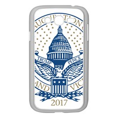 Presidential Inauguration USA Republican President Trump Pence 2017 Logo Samsung Galaxy Grand DUOS I9082 Case (White)